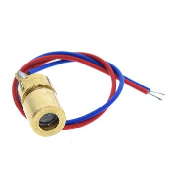 Kýrmýzý Lazer Diyot Modülü - 5 Volt-5 mW