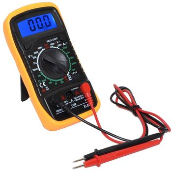 EXCEL XL830L Iþýklý Dijital Multimetre Voltmetre Ampermetre Avomt