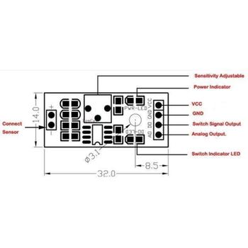 Arduino Alev - Ateþ Sensör Modülü