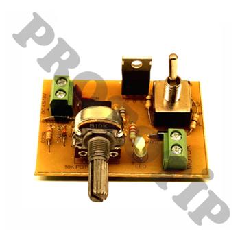 DC Motor Hýz ve Yön Kontrol Devresi PWM ( Monteli - Hazýr Devre )
