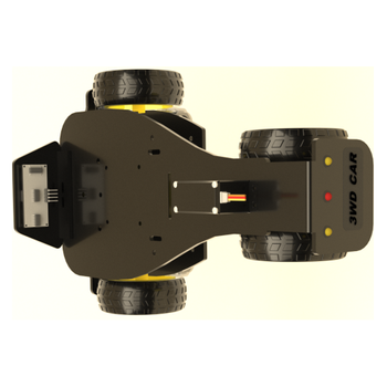 3WD Servo Kontrollü Direksiyonlu Araba TURBO XL