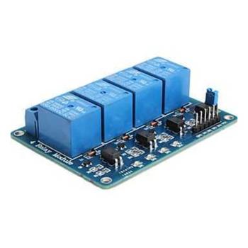 PIC ARM 4 kanal röle modülü 5V 10A