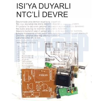 Isýya Duyarlý NTC-Li Devre Demonte