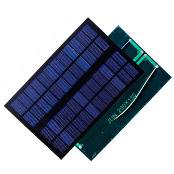 12V 100mA Güneþ Paneli - Solar Pil 200x130mm