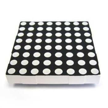 40x40mm 8x8 Mini Dot Matrix LED Display Kýrmýzý