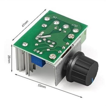 2000W AC 220V Regülatör - Dimmer