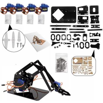Arduino Robot Kol Parçalarý 35 Parça Tam Set ( Lazer Kesim )
