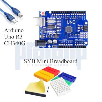 Arduino Baþlangýç Seti UNO R3 ( CH340 ) Okul 34 Parça 134 Adet