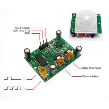 Arduino HC-SR501 PIR Hareket Sensör Modülü