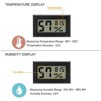 Kuluçka Nem Ölçer Proplu Dijital Higrometre-Termometre