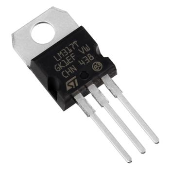 LM317T Ayarlanabilir Voltaj Regülatörü