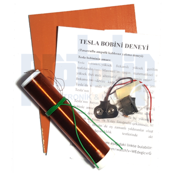 Tesla Bobini Deneyi - Tesla Bobin Demonte