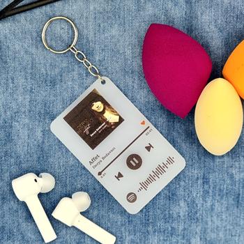 Spotify Kodlu Anahtarlýk 8x5cm ( Derya Bedavacý ) Affet
