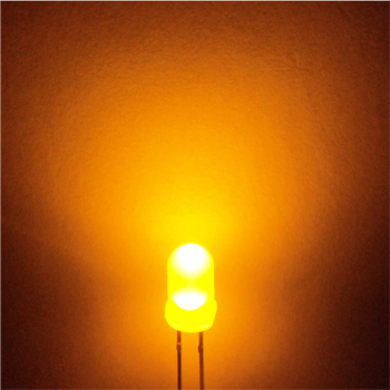 5mm Mat ( Diffused ) Sarý Led 10 Adet
