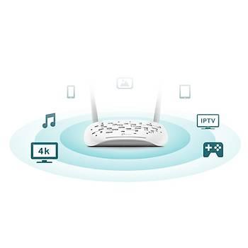TP-LINK TD-W9960 300Mbps 4P VDSL/ADSL MODEM ROUTER