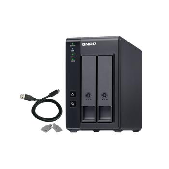 QNAP TR-002 2 YUVA DAS DEPOLAMA CÝHAZI(USB BAÐLANTI)