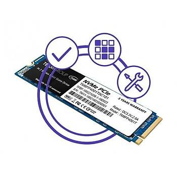 512GB TEAM  MP34 3000/1700 MB/s NVMe PCIe M.2 2280 SSD