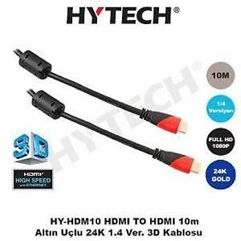 HYTECH HY-HDM10 HDMI TO HDMI 24K  DATA KABLO