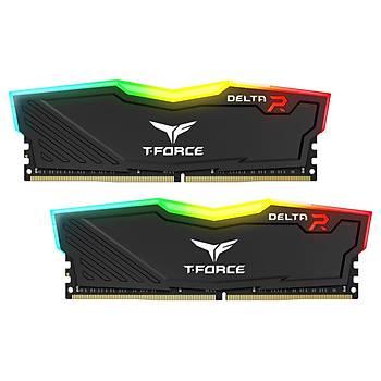 32 GB DDR4 3200M T-FORCE DELTA RGB BLACK 16x2