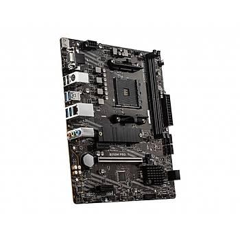 MSI B550M PRO DDR4 4600(OC)MHZ HDMI MATX AM4