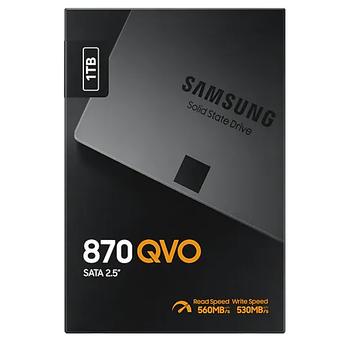 1TB SAMSUNG 870 560/530MB/s QVO MZ-77Q1T0BW SSD