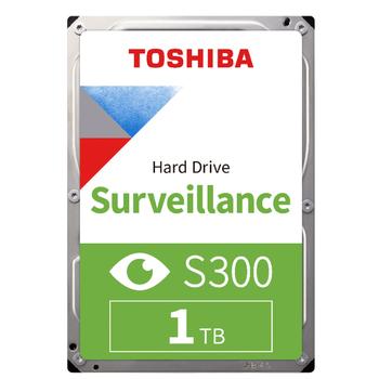 1TB TOSHIBA 5400Rpm S300 SATA 128MB 7/24 HDWV110UZSVA