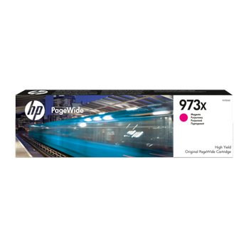 HP 973X YÜKSEK KAPASITELI MACENTA 7K F6T82A