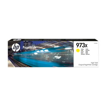 HP 973X YÜKSEK KAPASITELI SARI  7K F6T83A