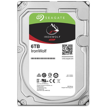 6TB SEAGATE IRONWOLF 5400RPM 256MB NAS ST6000VN001