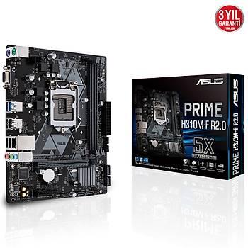 ASUS PRIME H310M-F R2.0 DDR4 2666Mhz VGA 1151p