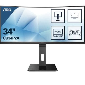 34 AOC CU34P2A IPS QHD 1MS 100HZ HDMI DP