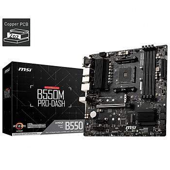 MSI B550M PRO-VDH DDR4 4400(OC) HDMI mATX AM4