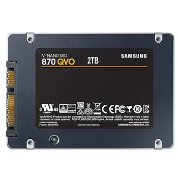 2TB SAMSUNG 870 560/530MB/s QVO MZ-77Q2T0BW SSD