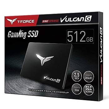 """512 GB T-FORCE VULCAN G GAMING2,5"""" 550/500MB/s SSD"""