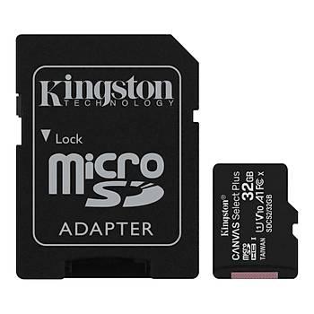 32GB MICRO SD CANVAS PLUS KINGSTON SDCS2/32GB