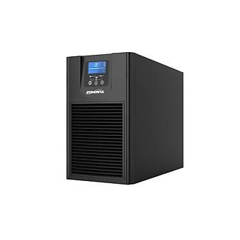POWERFUL UPS PSE-1102 2KVA 4-10 DK LCD EKRAN KESÝNTÝSÝZ GÜÇ KAYNAÐI
