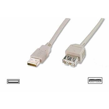 DIGITUS AK-300202-050-S USB 2.0 UZATMA KABLOSU 5MT