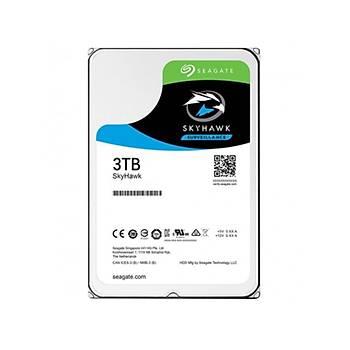3TB SEAGATE SKYHAWK 256MB 7/24 ST3000VX009 (Seagate TR Disty Garantili)