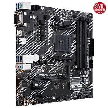 ASUS PRIME A520M-A DDR4 4600MHz  mATX AM4