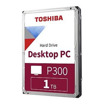 1TB TOSHIBA 7200RPM P300 SATA3 64MB HDWD110UZSVA