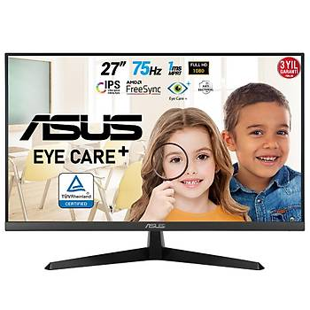27 ASUS VY279HE FHD IPS 1MS 75HZ VGA HDMI