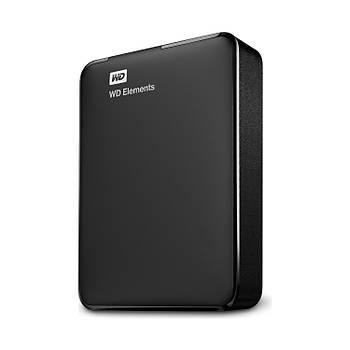 """4TB WD 2.5"""" USB3.0 ELEMENTS SÝYAH WDBU6Y0040BBK-WESN"""