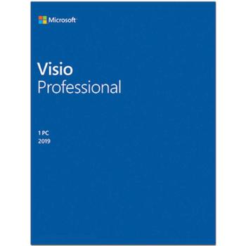 MICROSOFT VISIO PROFESIONAL 2019 - ESD D87-07425
