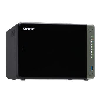 QNAP TS-653D 6 YUVALI NAS DEPOLAMA ÜNÝTESÝ(4GB)