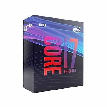 INTEL CORE Ý7-9700K 4.9GHZ 12MB 1151P 9.NESÝL FANSIZ