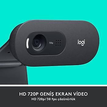 LOGITECH C505 WEBCAM HD - SÝYAH 960-001364