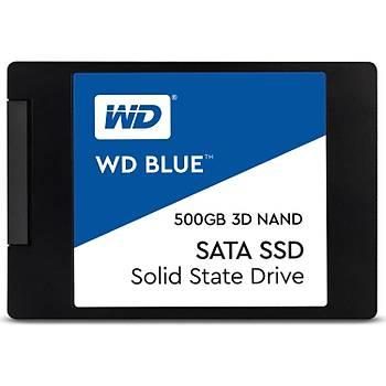 """500GB WD BLUE 2.5"""" 560/530MB/s WDS500G2B0A SSD"""