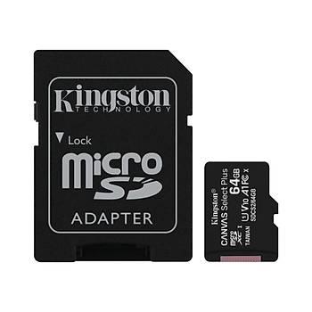64GB MICRO SD CANVAS PLUS KINGSTON SDCS2/64GB