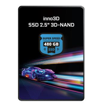 480GB INNO3D 3D-NAND SSD 510/480MB/s