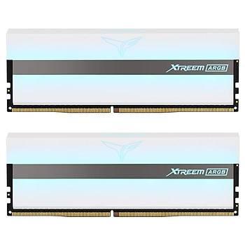 16 GB DDR4 3600Mhz T-FORCE XTREEM ARGB WHITE 8GBx2